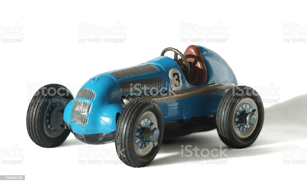 racing car number 3 stock photo