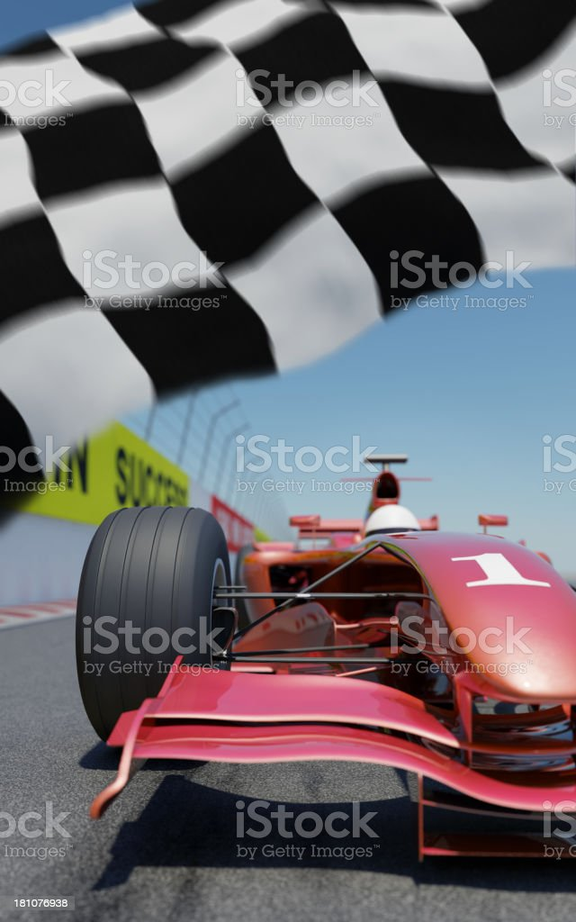 Racing Car royalty-free stock photo