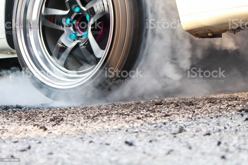 racing car bildbanksfoto