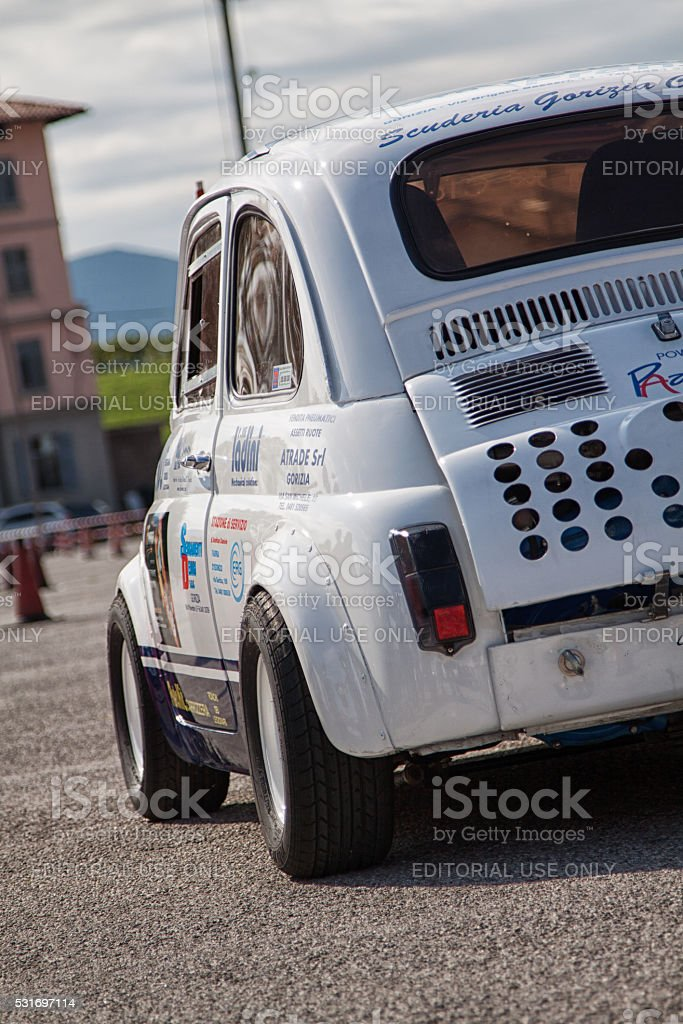 Racing car stock photo