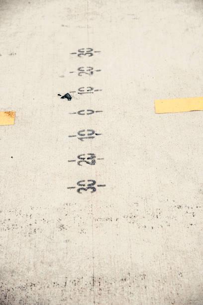 Yarış pit Lane işaretler stok fotoğrafı