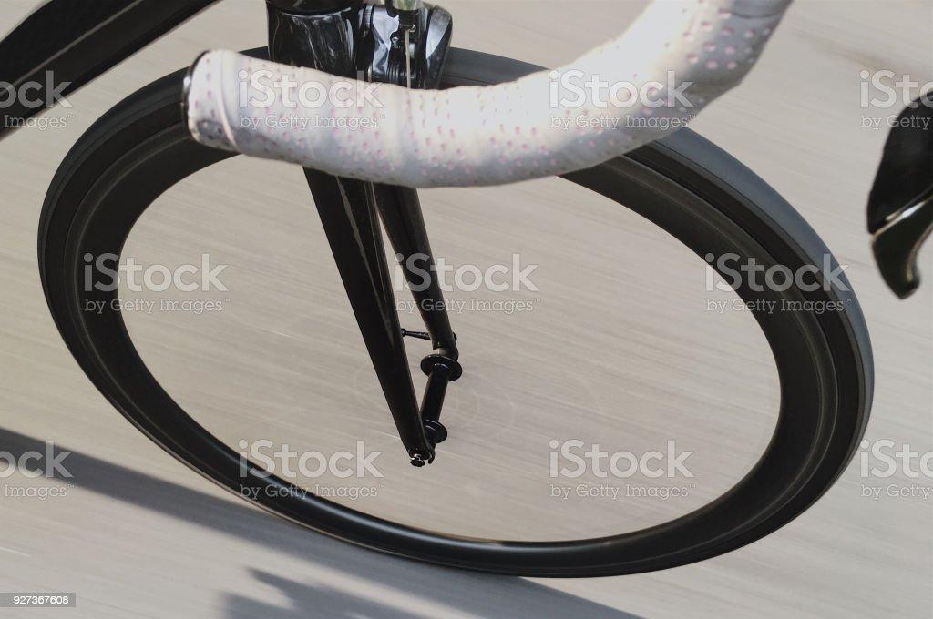 Racing Road Cycling stock photo