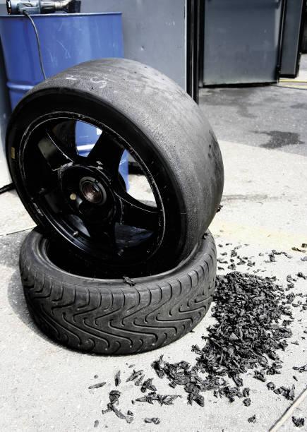 racing tires, pneumatici da corsa - gigifoto foto e immagini stock
