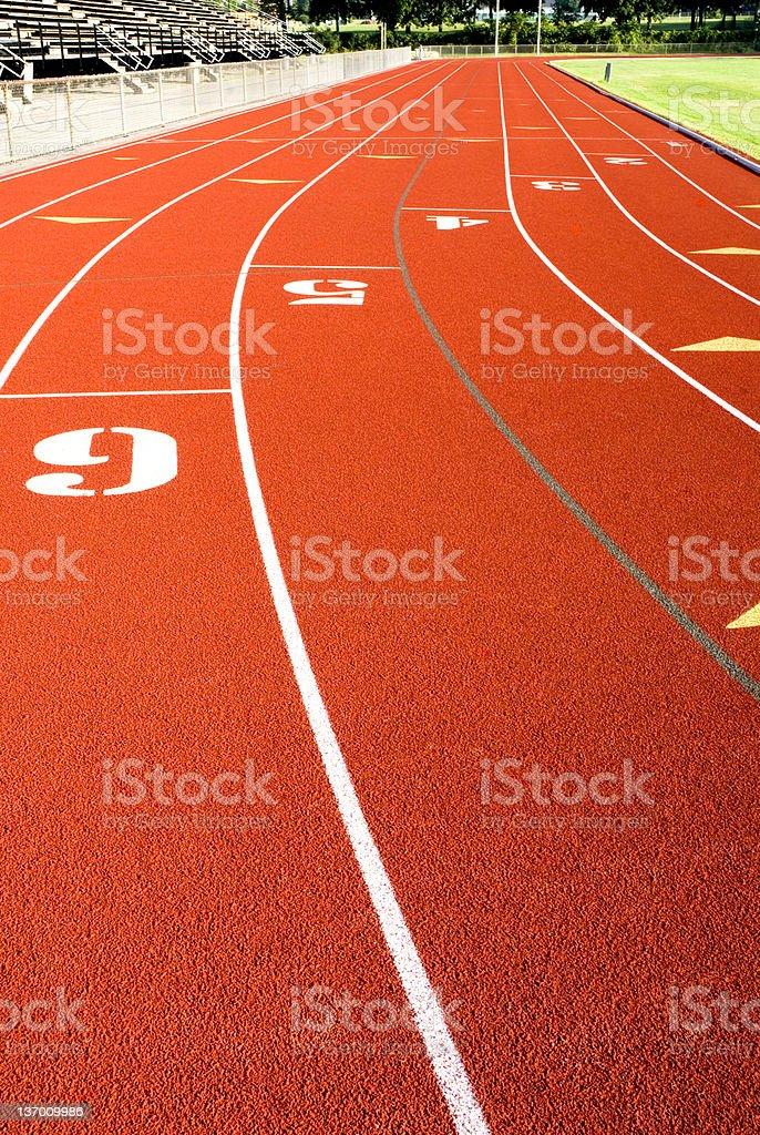 Racing Track II royalty-free stock photo