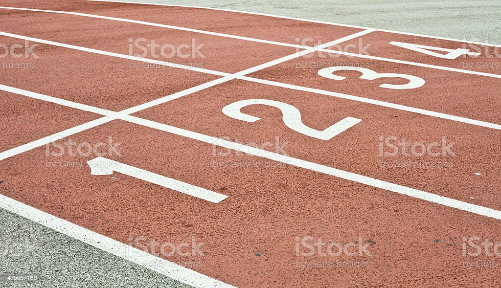 Racing track royalty-free stock photo