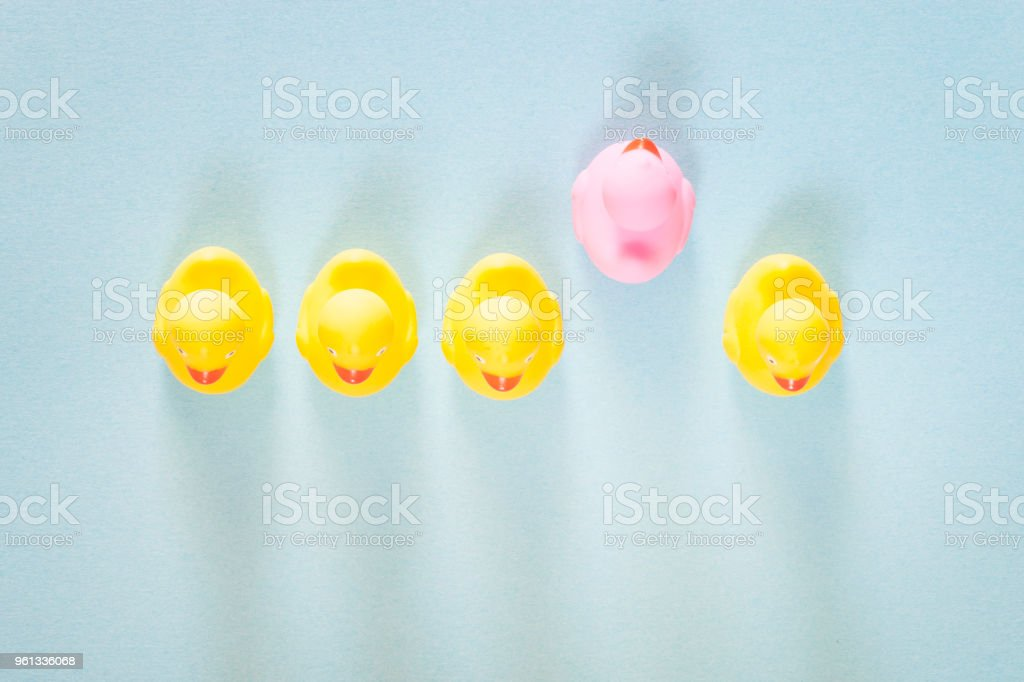 Racism, homophobia, discrimination and social exclusion concept stock photo