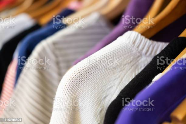 Rack of sweaters in second hand store picture id1149296501?b=1&k=6&m=1149296501&s=612x612&h=h3gm zhm9nke260z3iknxnzaea5q7rbyyqsgaijqxjm=