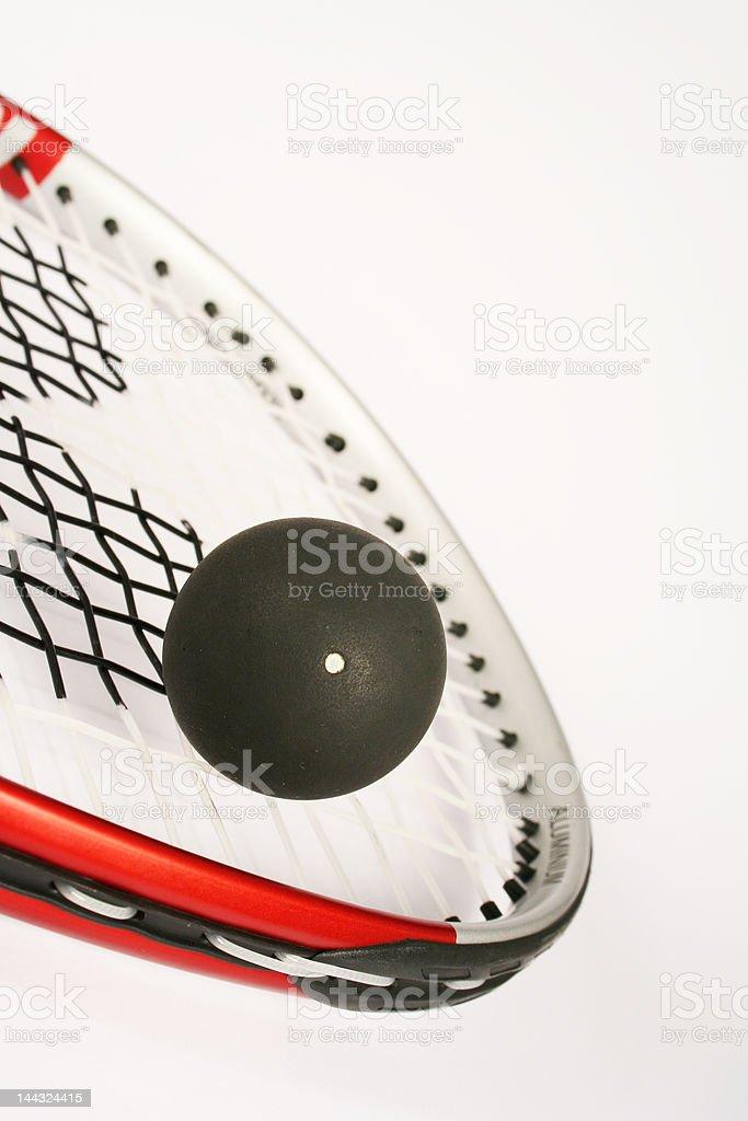 Racket squash stock photo