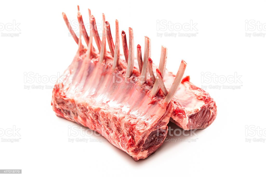 Racks of lamb stock photo