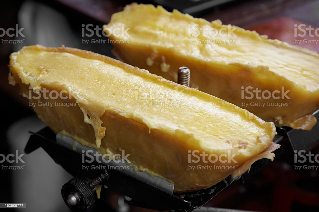 Raclette chese stock photo