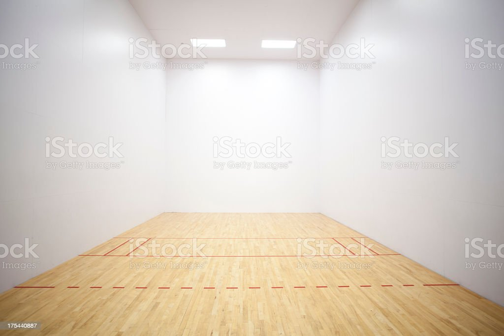 Racquetball Court royalty-free stock photo