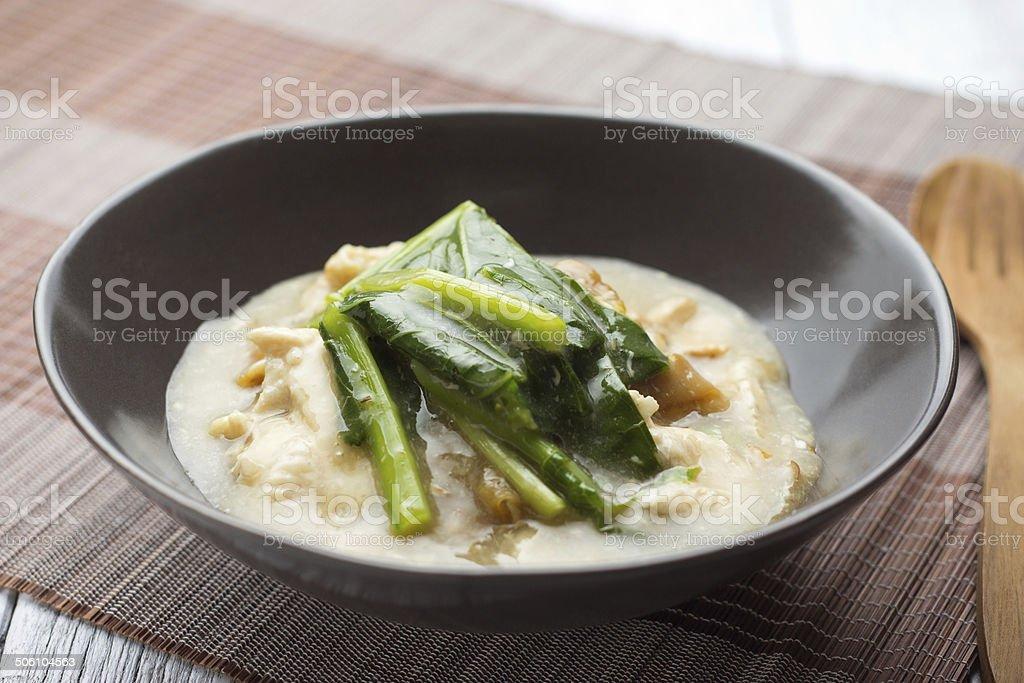 Rad na (Thai food) royalty-free stock photo