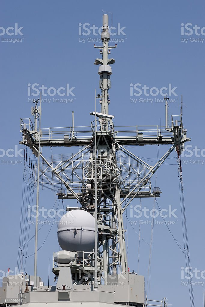 Radar and Comms stock photo