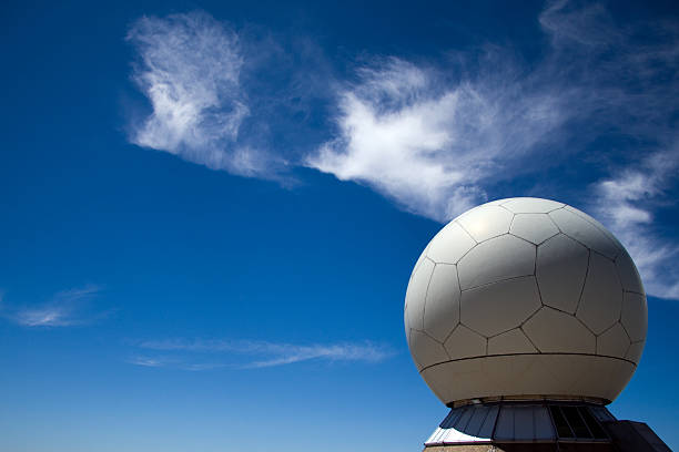 Radar Guiding System stock photo