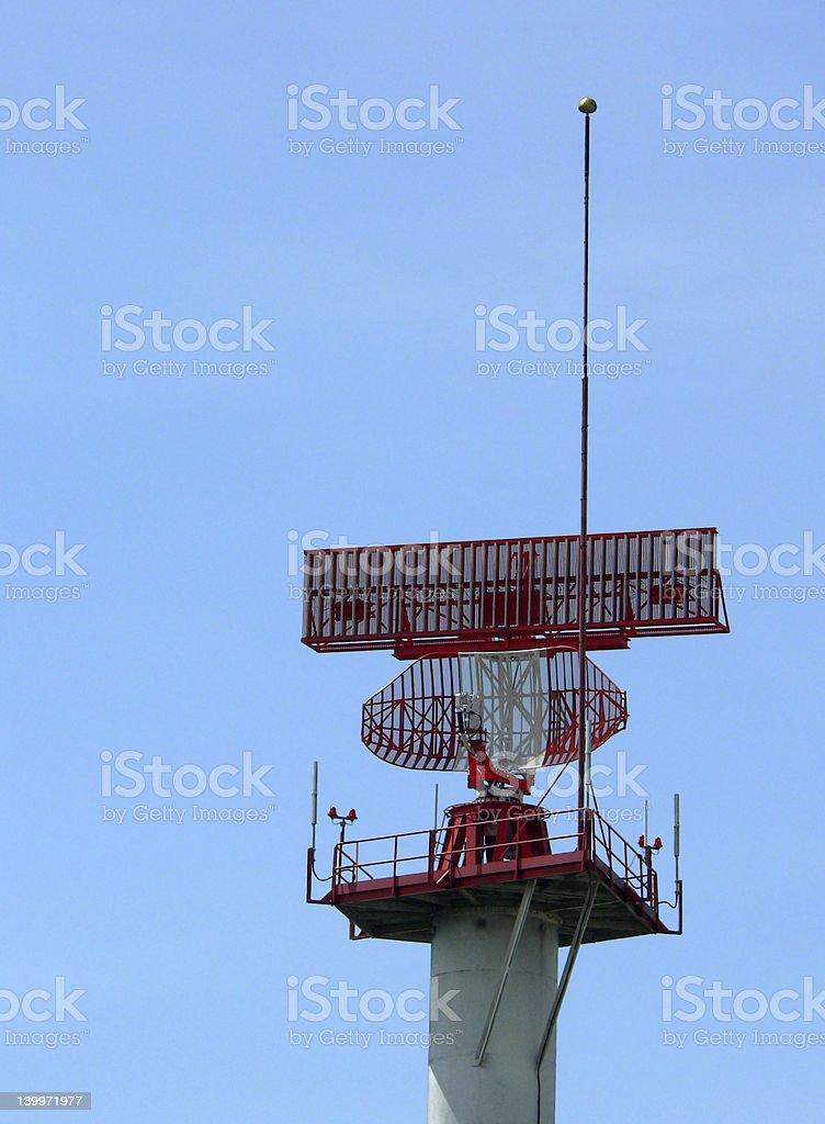 Radar Navigation Equipment royalty-free stock photo
