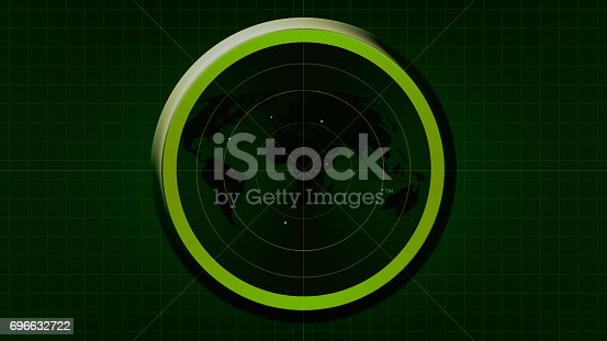 istock Radar screen 696632722