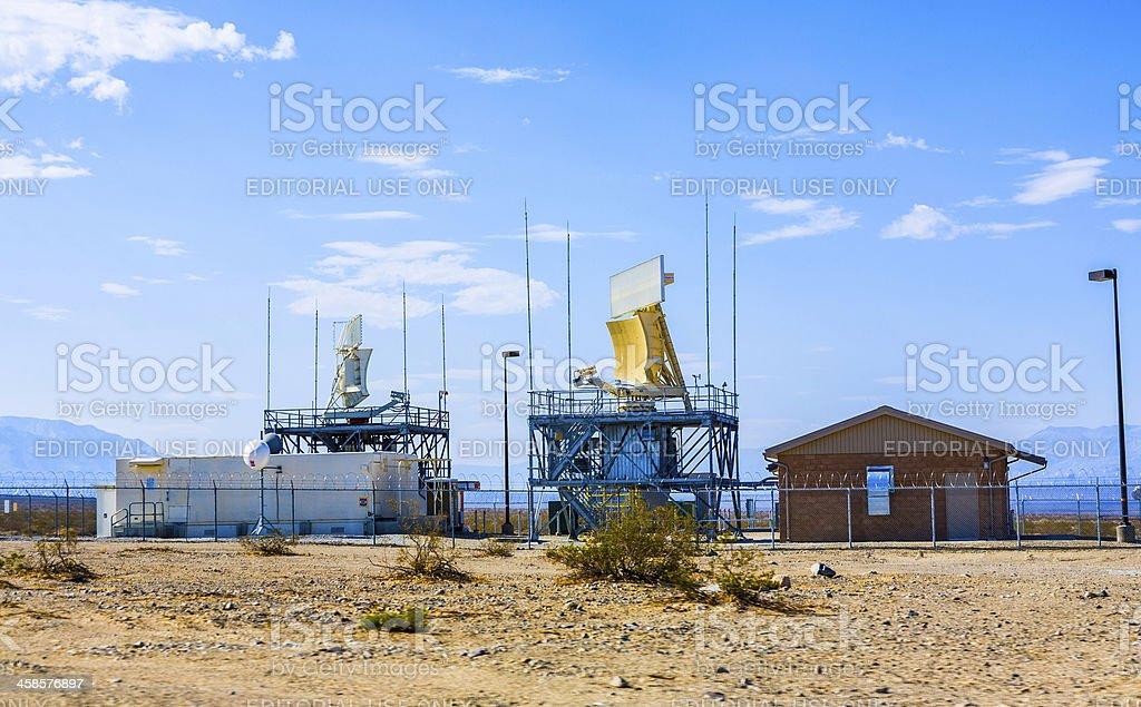 Radar Station in Ballarat stock photo