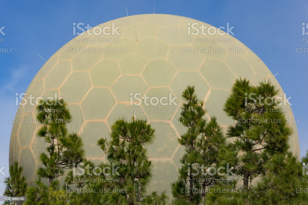 Radar Station On Gran Canaria Stock Photo - Download Image Now - iStock