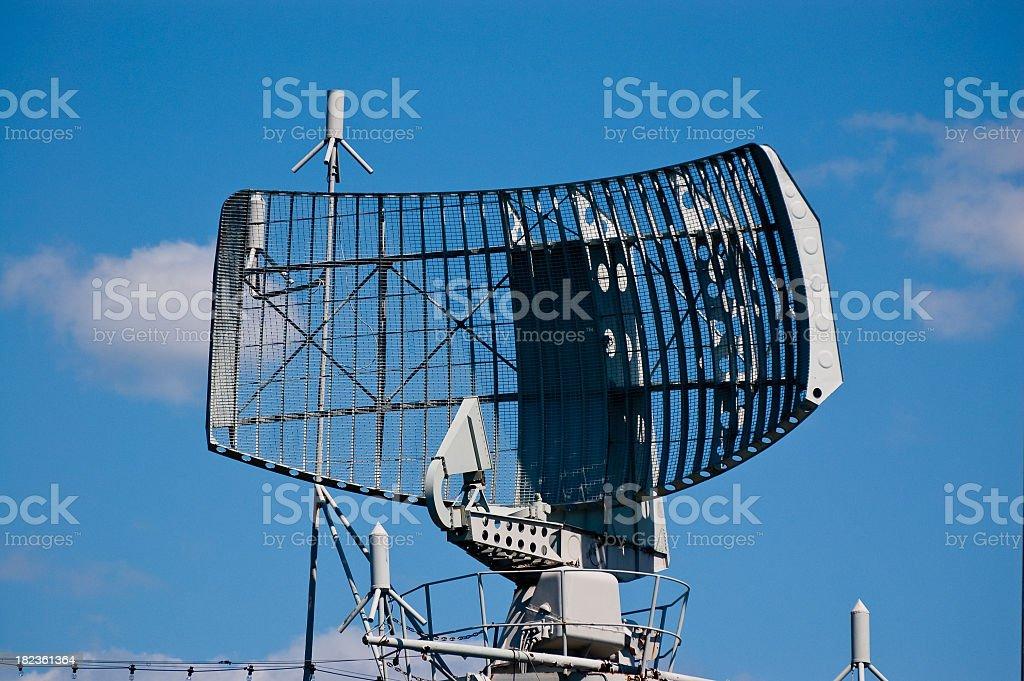Radar Tower royalty-free stock photo