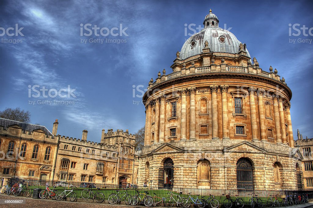 Radcliffe Camera HDR stock photo
