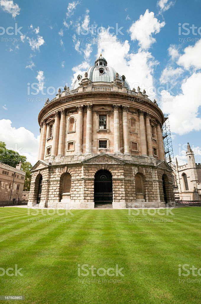Radcliffe Camera in Oxford, England stock photo