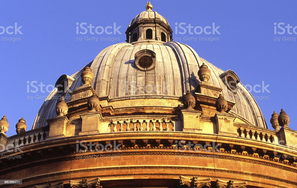 Radcliffe Camera in Oxford. England royalty-free stock photo