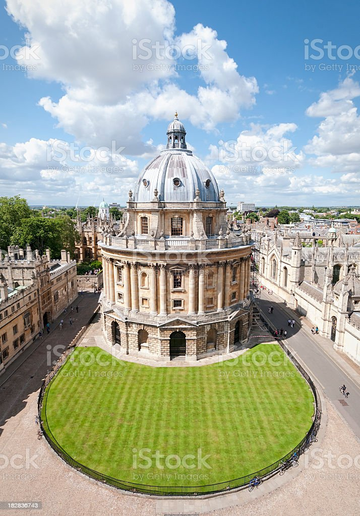 Radcliffe Camera in Oxford stock photo