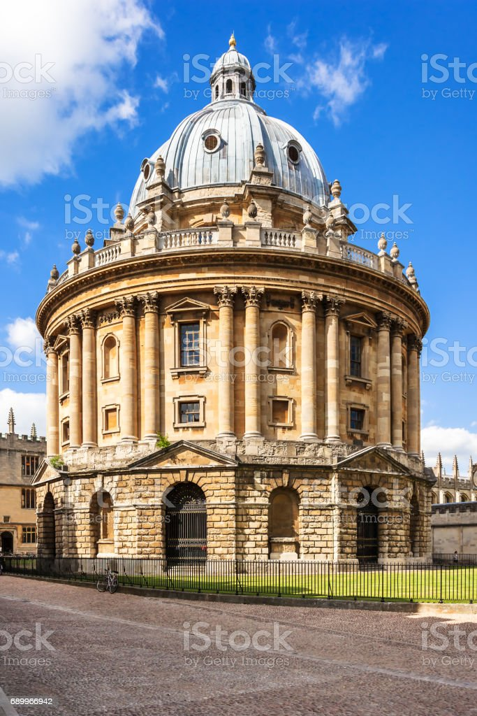 Radcliffe Camera is a building of Oxford University. Oxfordshire, England stock photo