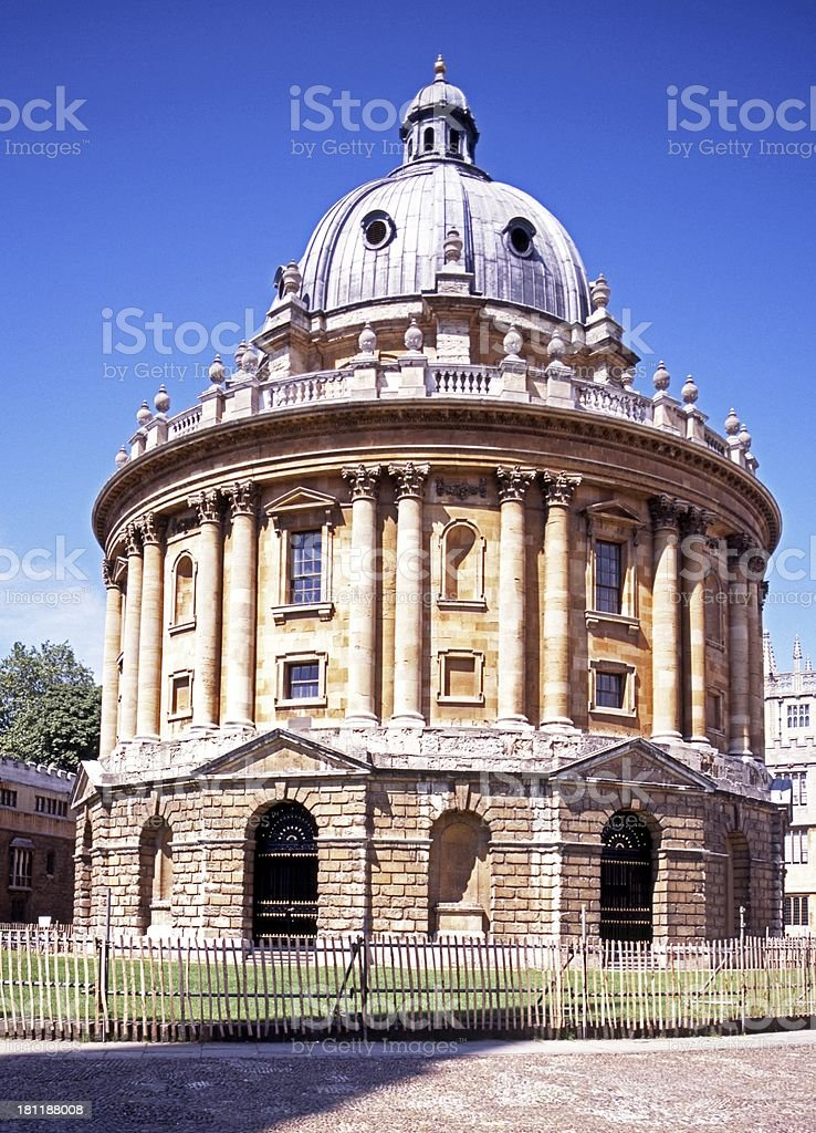 Radcliffe Camera, Oxford, England. royalty-free stock photo