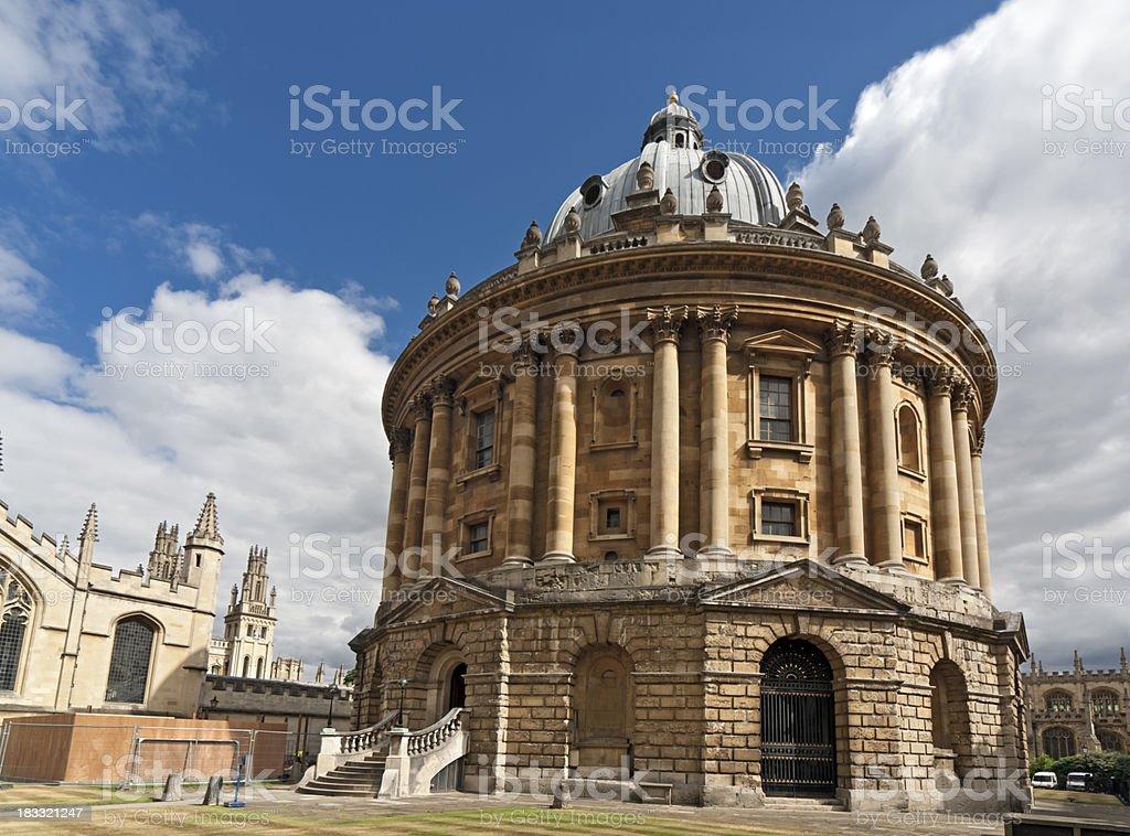Radcliffe Camera, Oxford, England stock photo