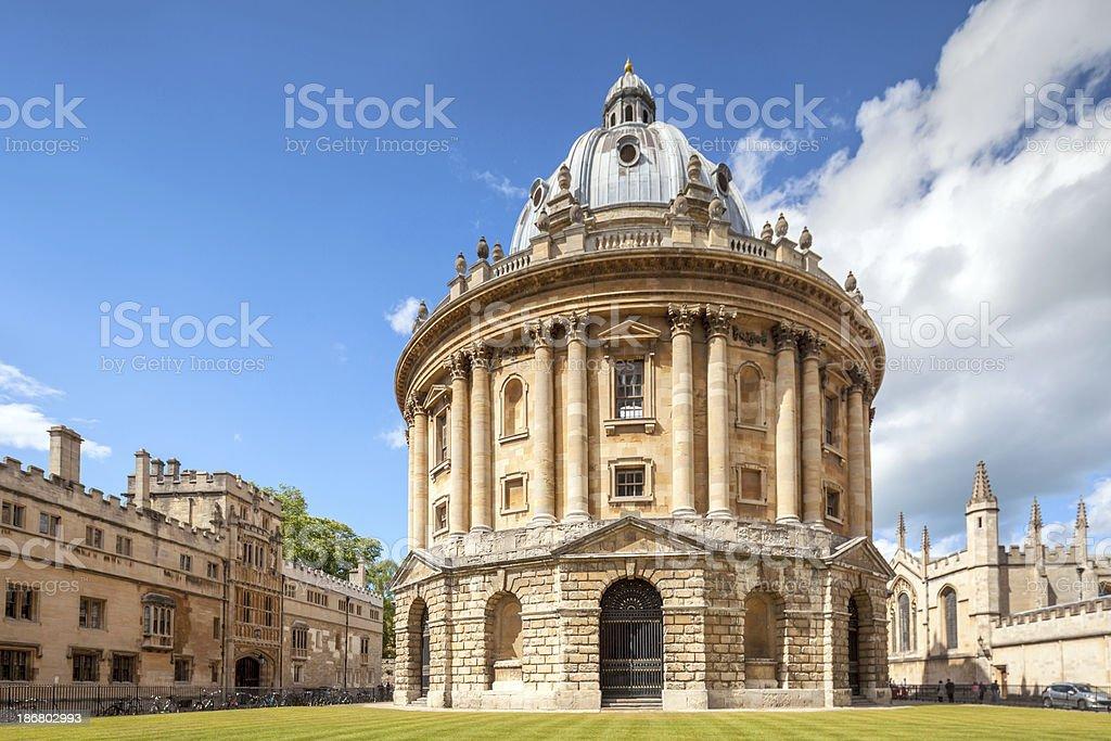 Radcliffe Camera, Oxford stock photo