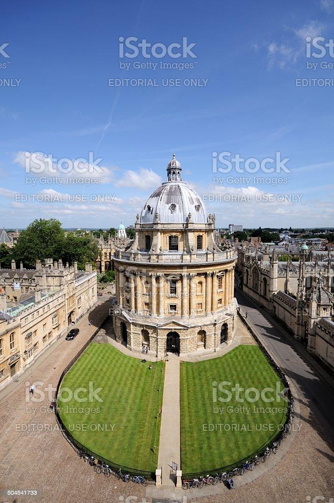 Radcliffe Camera, Oxford. stock photo