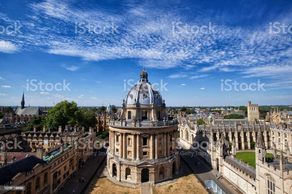 Radcliffe Camera, Oxford University, England, UK stock photo