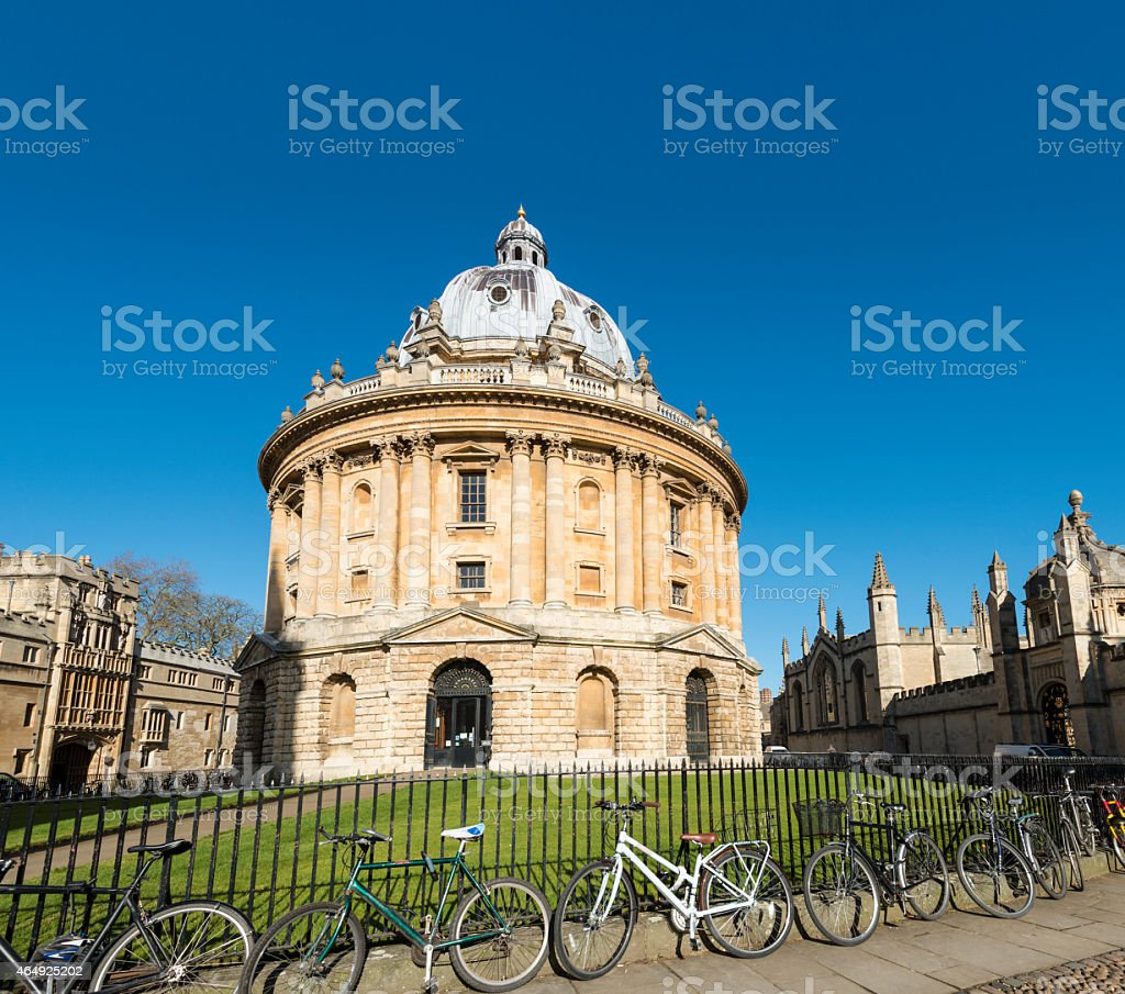 Radcliffe Camera Oxford University stock photo