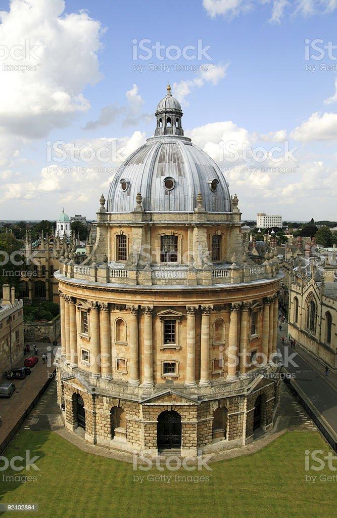 Radcliffe Camera, Oxford University stock photo