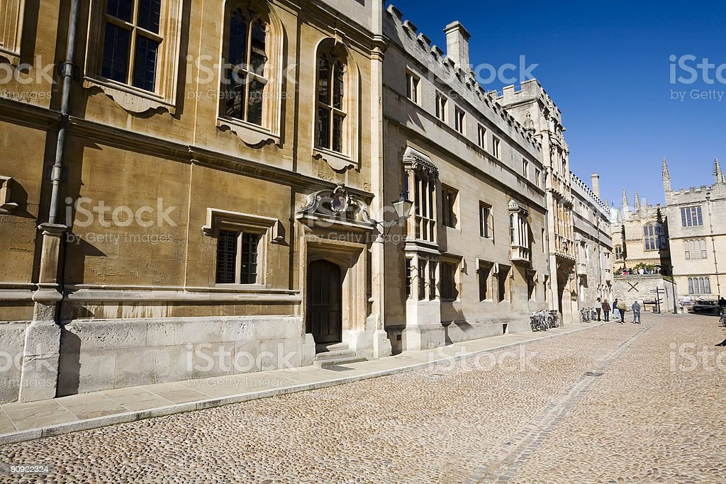 Radcliffe Square, Oxford University royalty-free stock photo