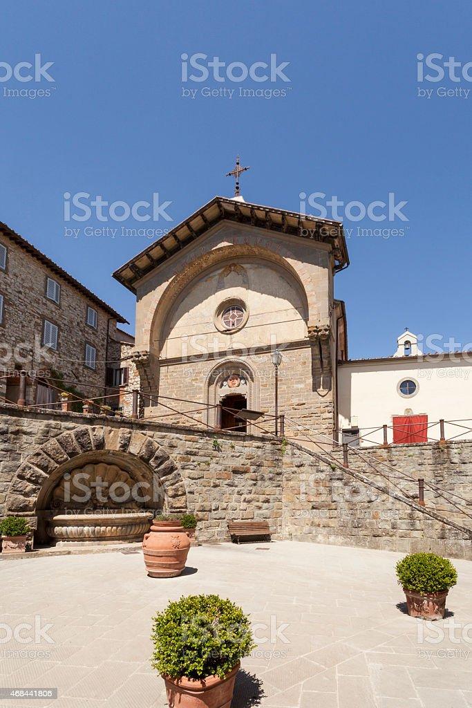 Radda in Chianti stock photo