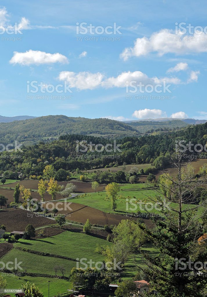 Radda in Chianti Tuscany Countryside stock photo