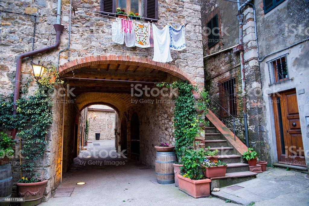 Radda In Chianti. Tuscany. Italy. Euroopa. stock photo