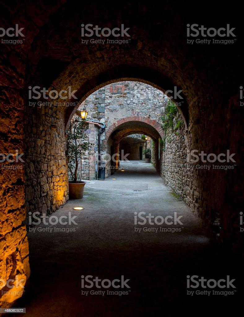 Radda In Chianti. Tuscany. Italy. Euroopa. royalty-free stock photo