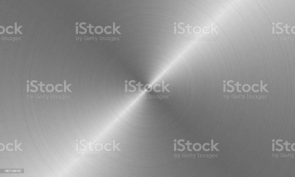 radial brushed metal royalty-free stock photo