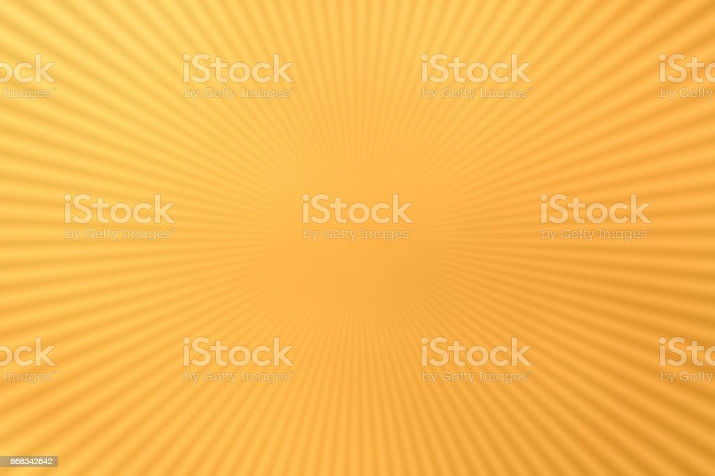Radial lines on yellow stock photo