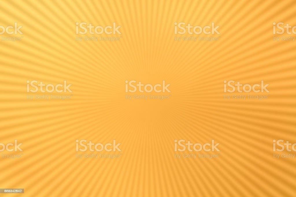 Linhas radiais em amarelo - foto de acervo