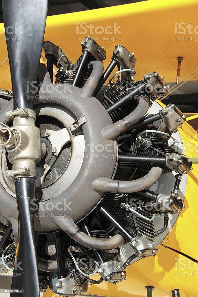 Radial Motor royalty-free stock photo