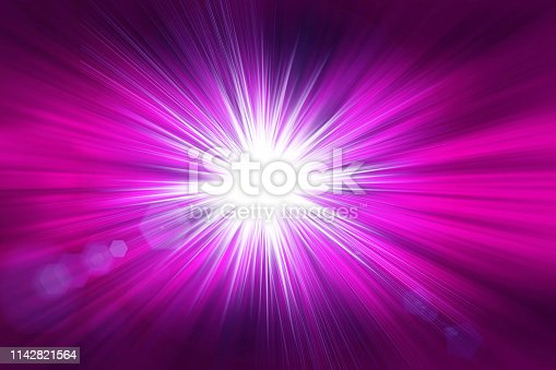 istock Radial purple abstract background. 1142821564