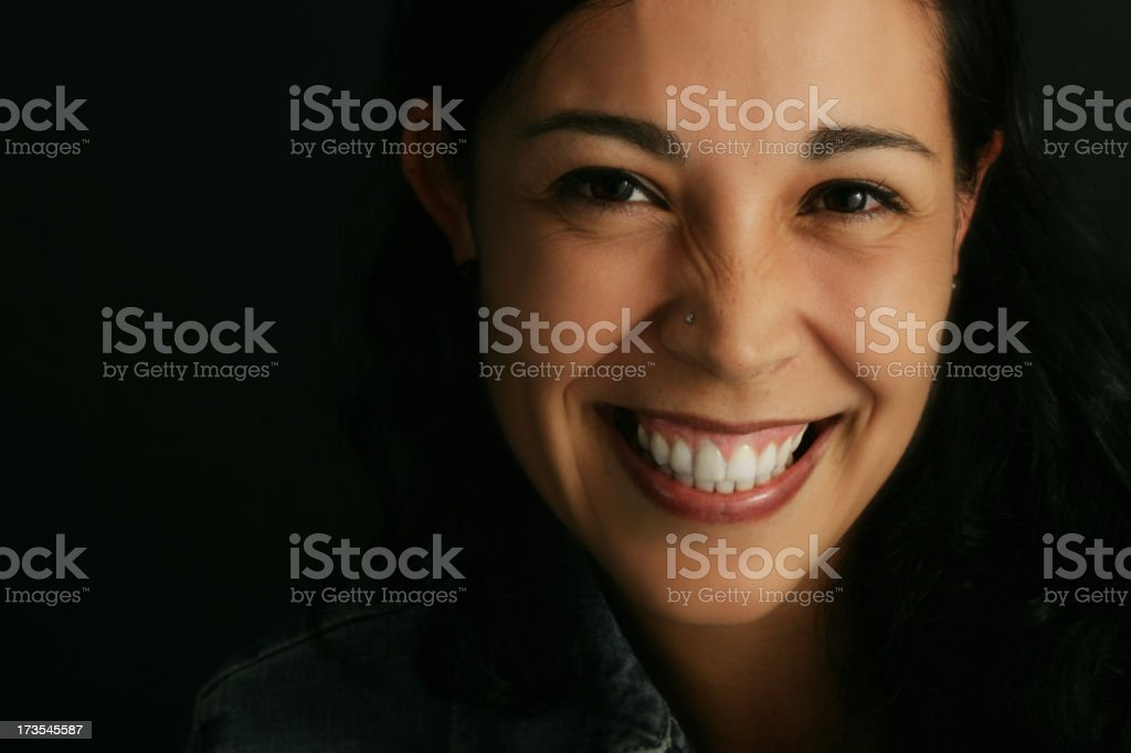 Radiant face royalty-free stock photo
