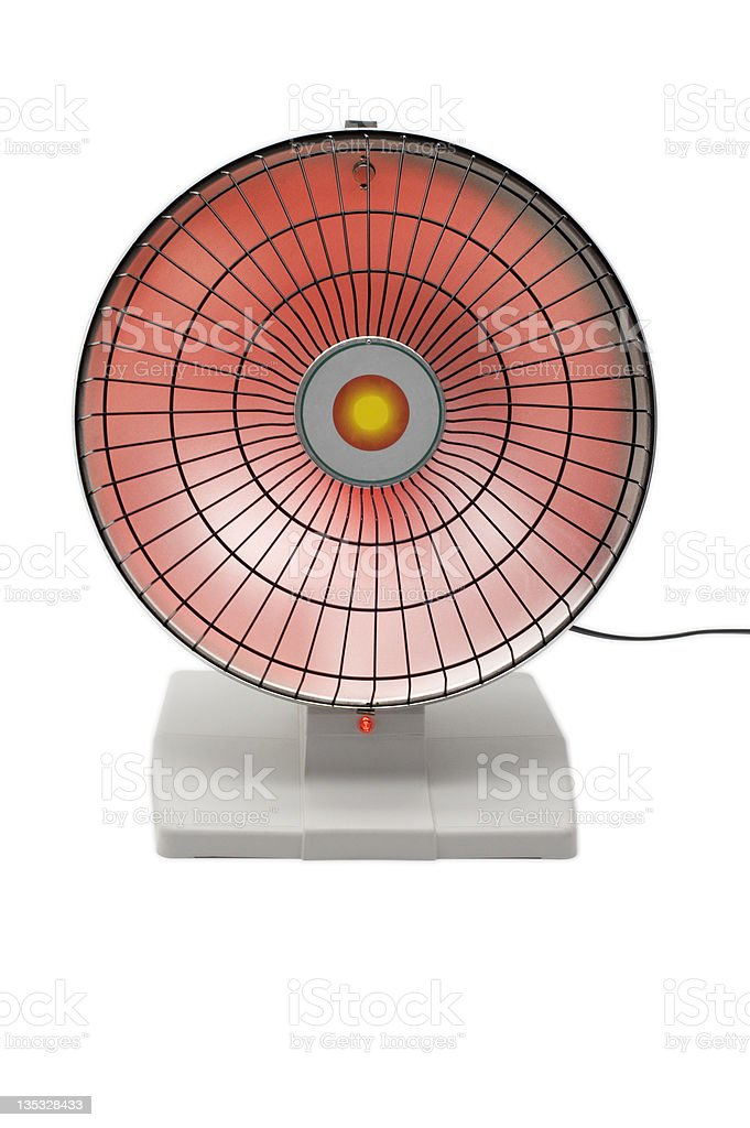Radiant Heater royalty-free stock photo