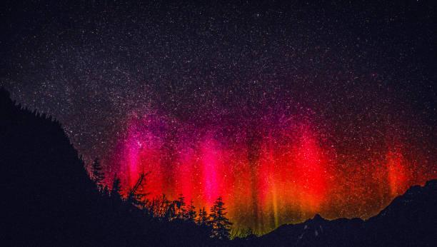 Strahlenden Nachthimmel – Foto