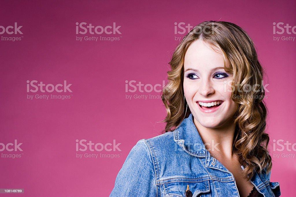 Radiant Smile royalty-free stock photo