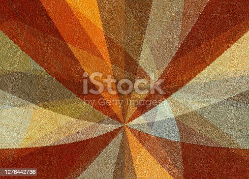 radiating from the center colored orange rays vintage background